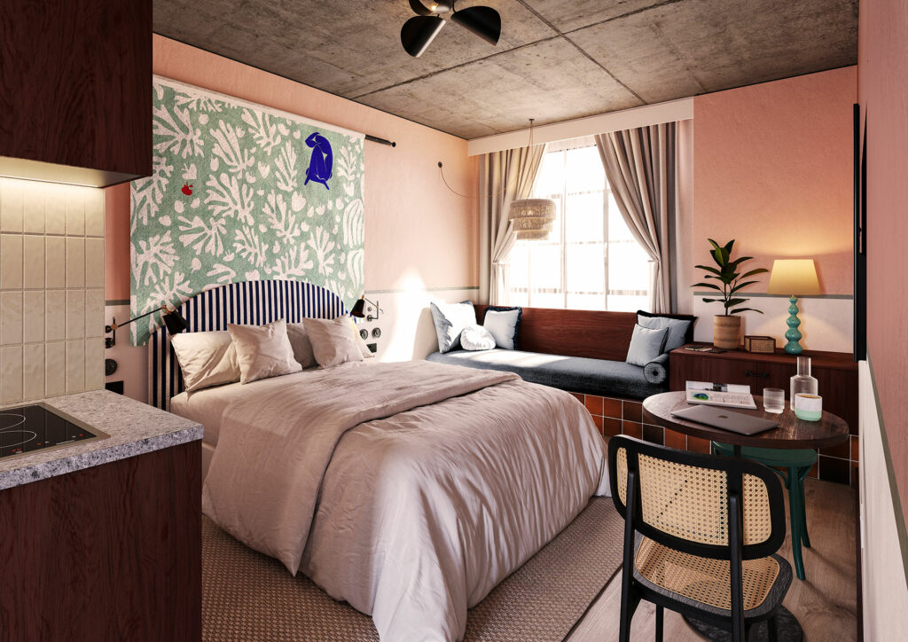 room2 Chiswick bedroom